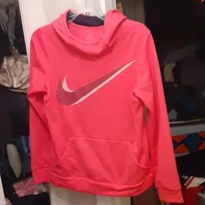 YXL Nike hot pink hoodie in good condition sfpf